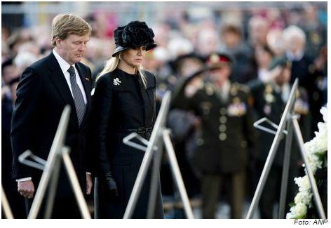 koning Willem-Alexander en koningin Máxima