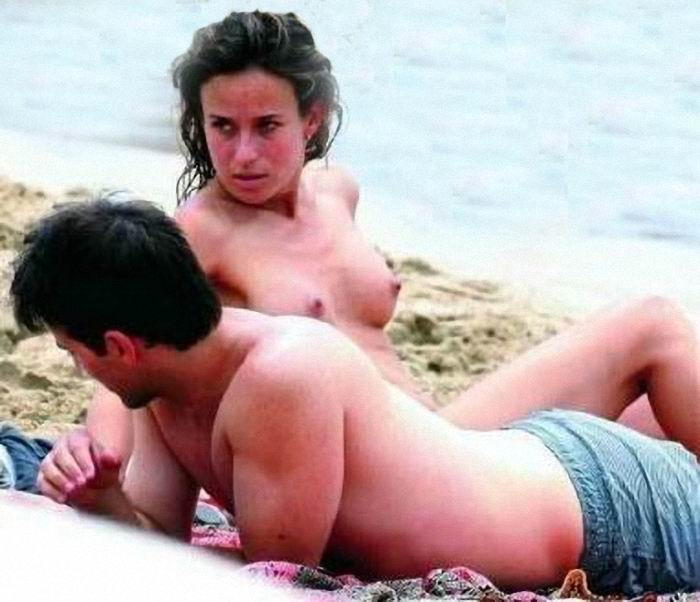 Marta Etura Sexy Sexy boob slip and naked, OOPS ...