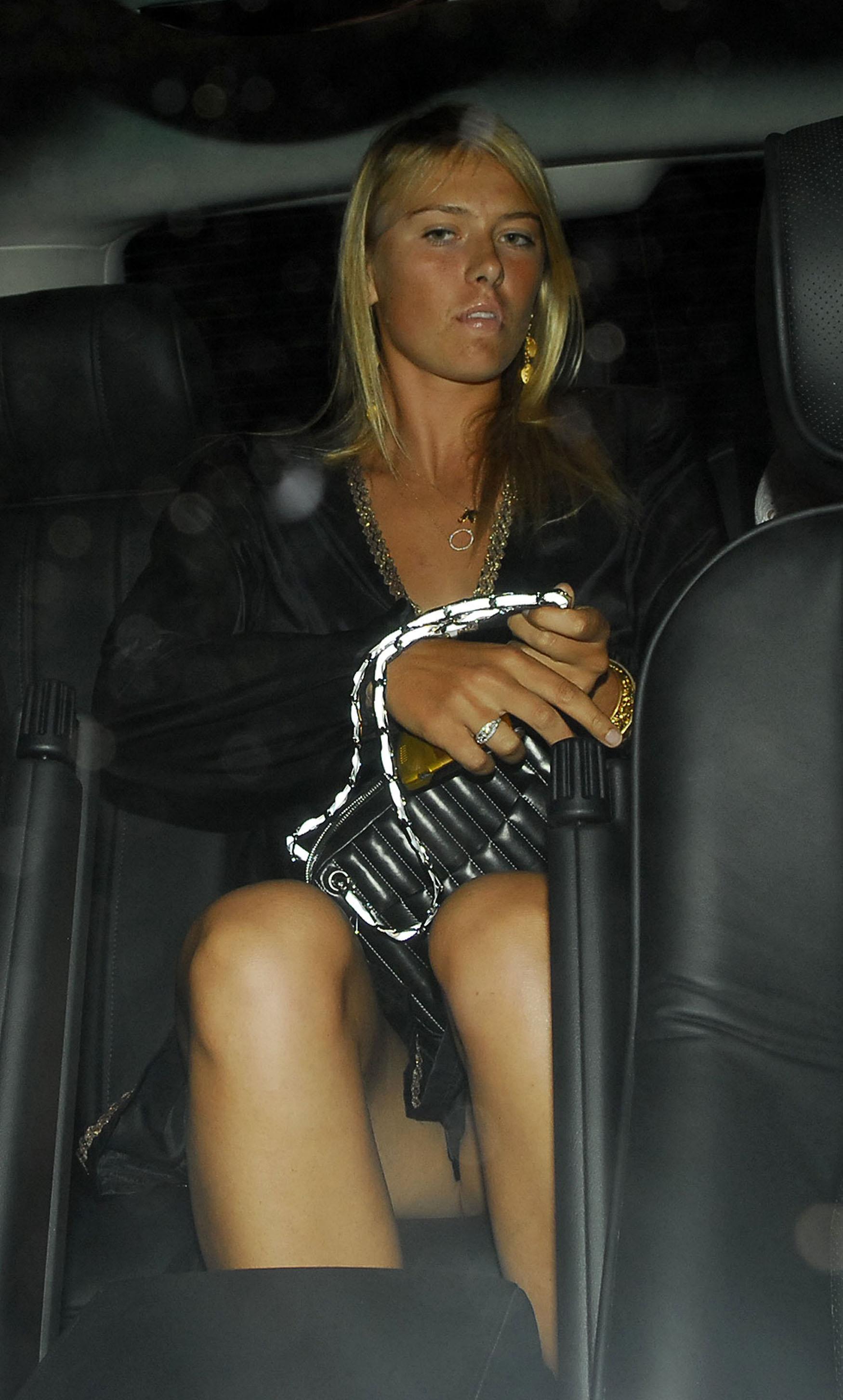 Maria pic sharapova upskirt