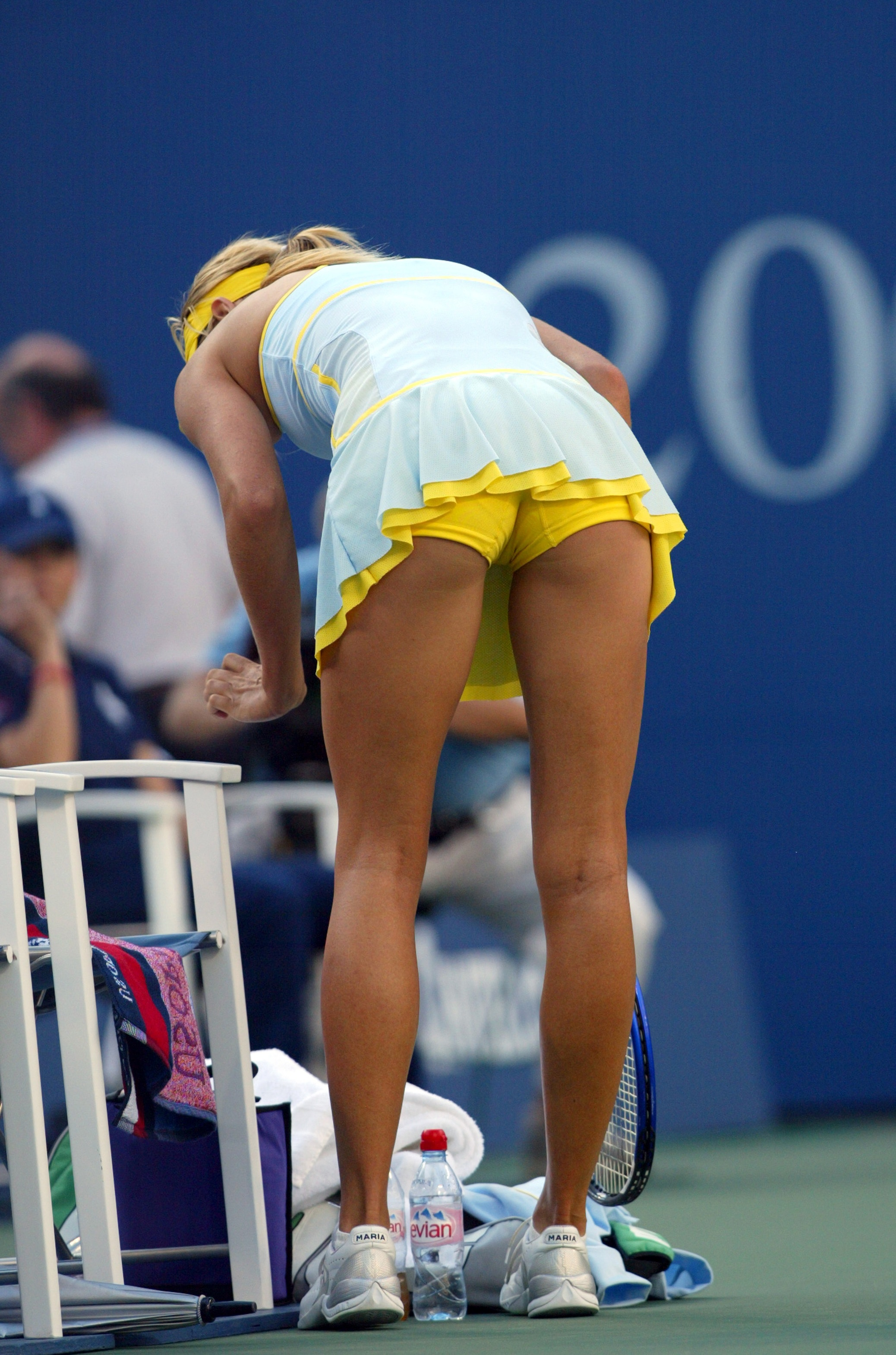 Maria photo sharapova upskirt