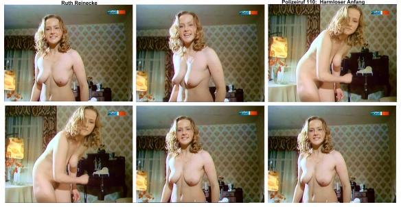 Ruth Reinecke  nackt