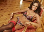 Tamara Ecclestone is unveiled as the new face and body of lingerie brand Ultimo.