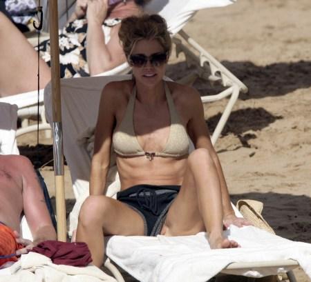 Denise Richards and Richie Sambora In Hawaii
