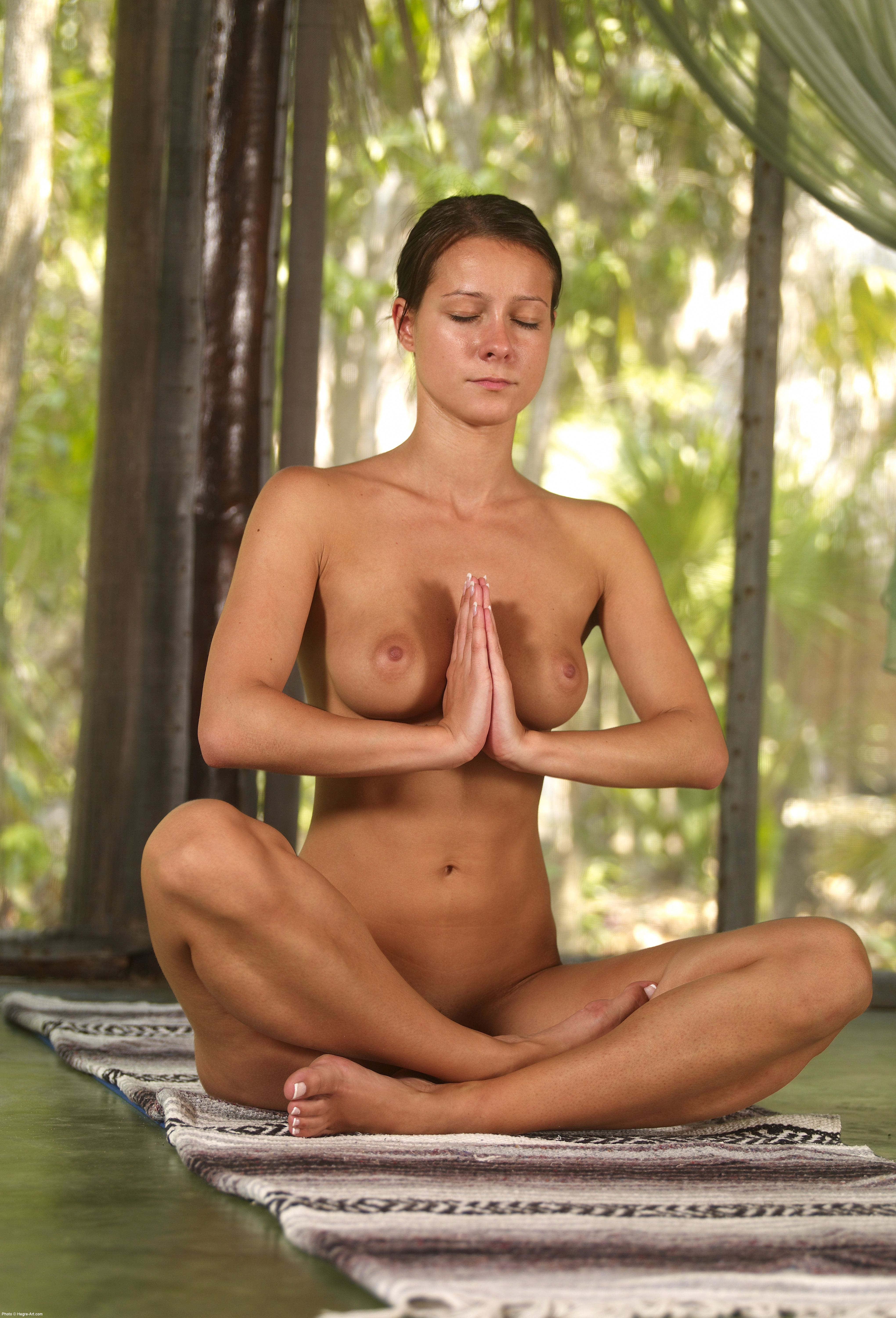 from Walter hot yoga women naked